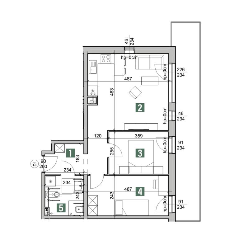 Vastbouw_Literatura_Mieszkanie_A.3.8